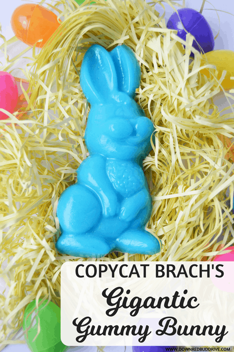 Copycat Brach's Gigantic Gummy Bunny
