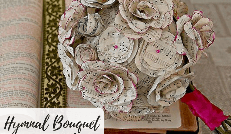 Hymnal Bouquet Tutorial