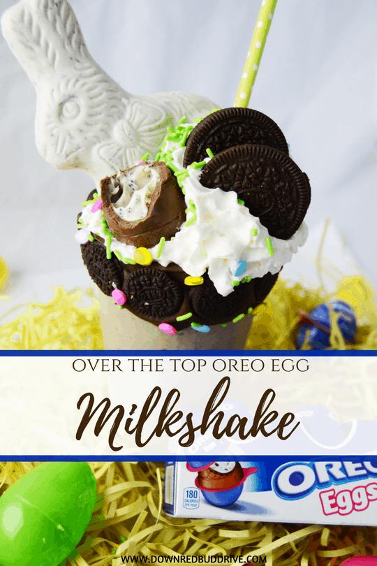 Oreo Egg Milkshake