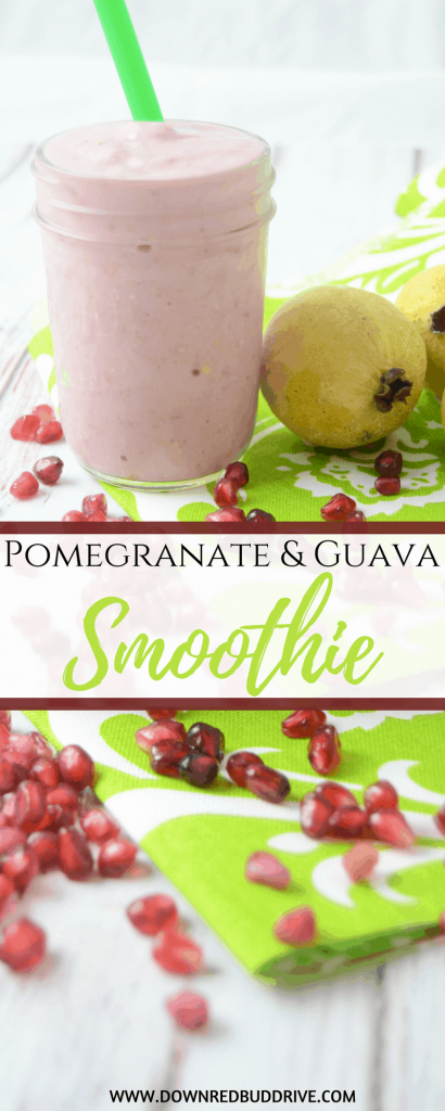 Pomegranate Guava Smoothie