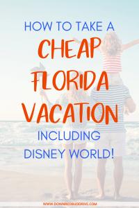 cheap Florida vacation