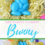 DIY Giant Gummy Bunny