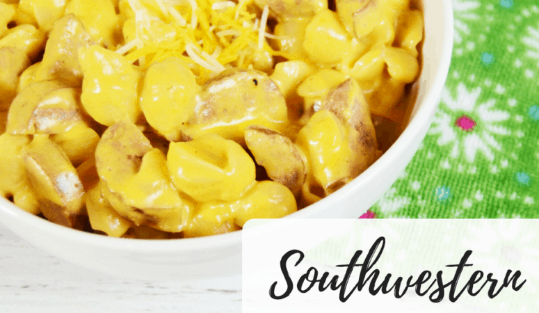Southwestern Shells & Cheese
