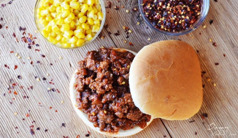 Easy Three Ingredient Sloppy Joes