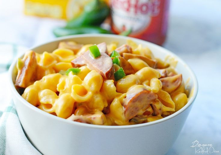 Southwestern Shells and Cheese