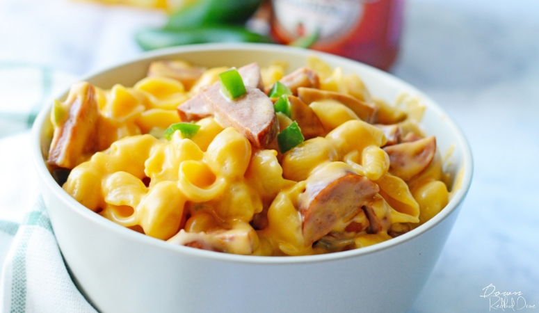 Shells and Cheese Southwestern Style | Shells and Cheese With a Kick!