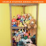 Stuffed Animal Corner Cage