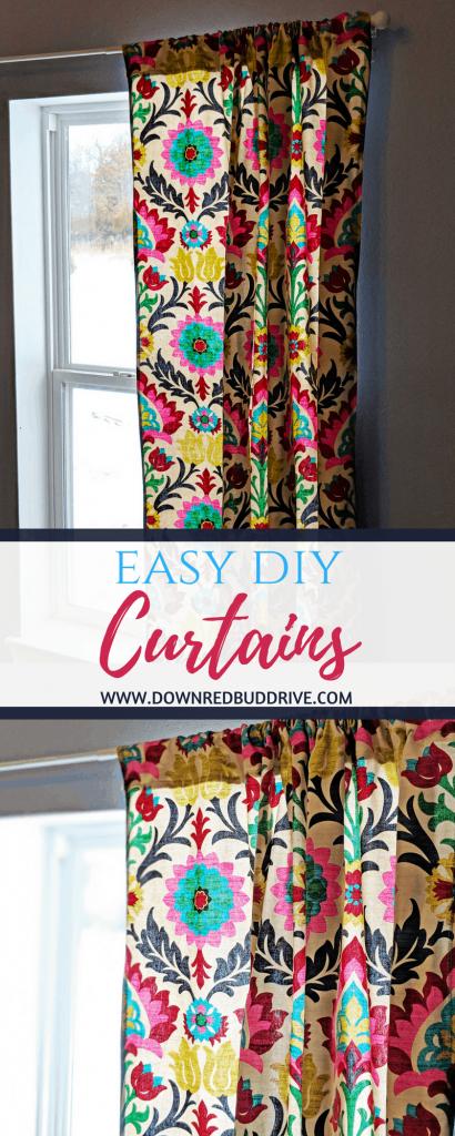 Easy DIY Curtains
