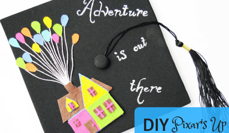 DIY Pixar's Up Graduation Cap