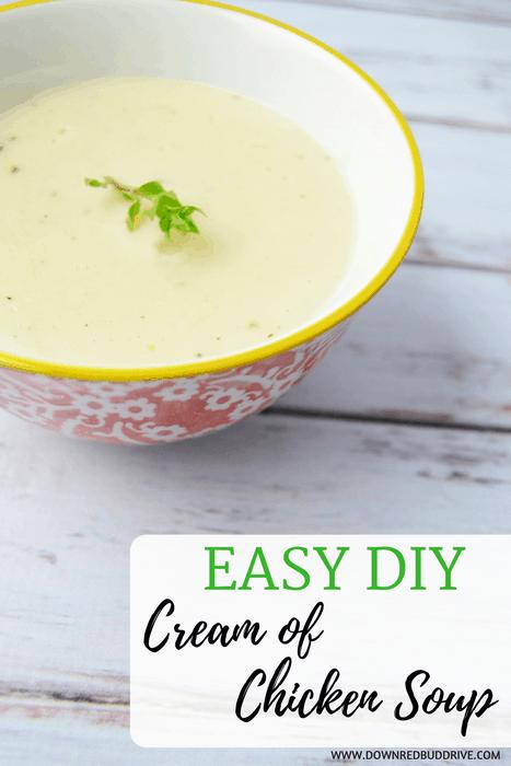 Easy DIY Cream of Chicken Soup