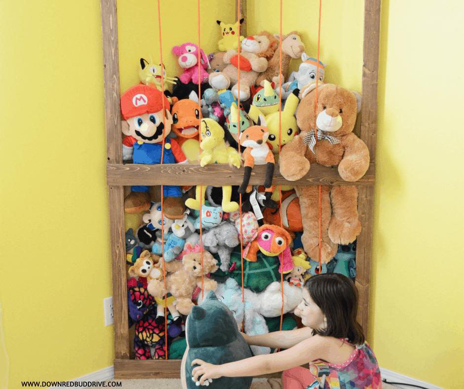 Stuffed Animal Corner Cage The Perfect Stuffed Animal Storage