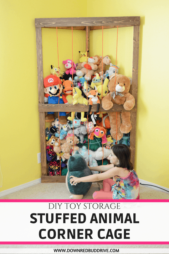 Beau Stuffed Animal Corner Cage