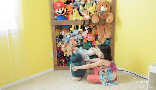 Stuffed Animal Corner Cage