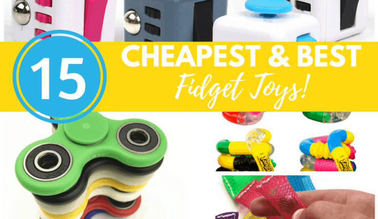15 Cheapest and Best Fidget Toys!