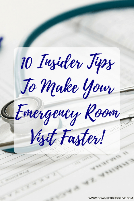make your emergency room visit faster