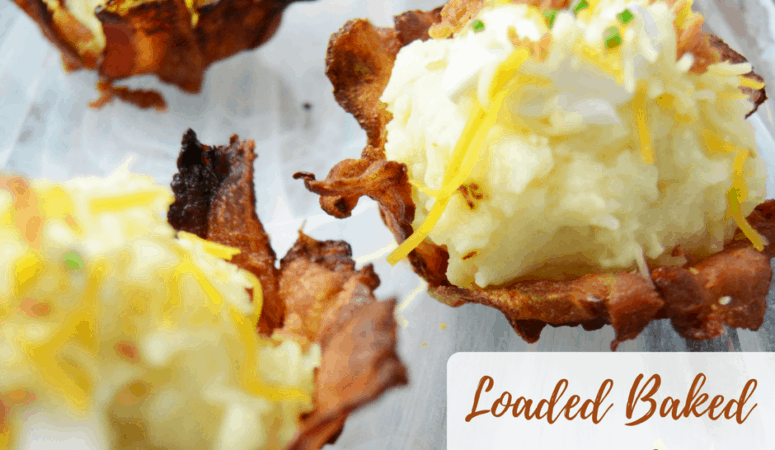 Loaded Baked Potato Cups