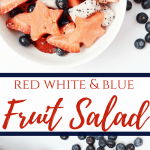Patriotic Fruit Salad