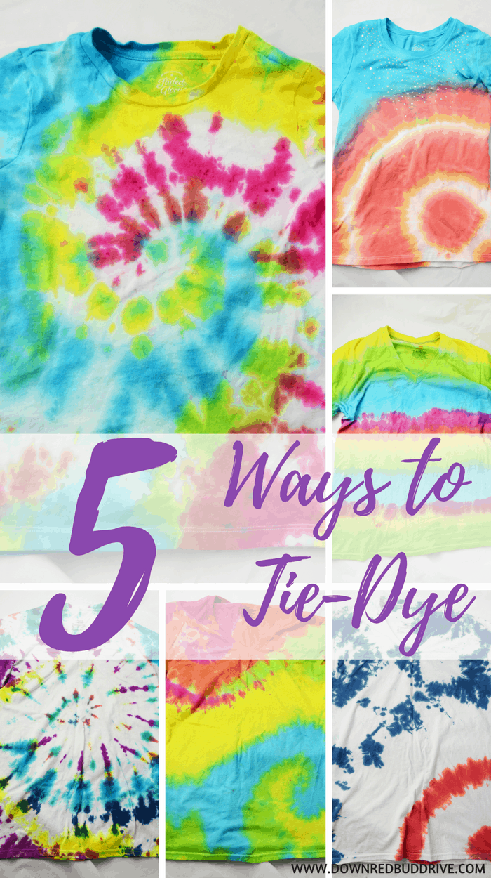 5 Ways To Tie Dye An Easy Step By Step Tutorial With Pictures