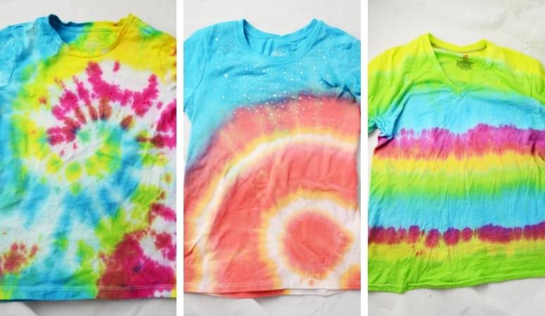 How to Tie Dye | 5 Ways to Tie-Dye