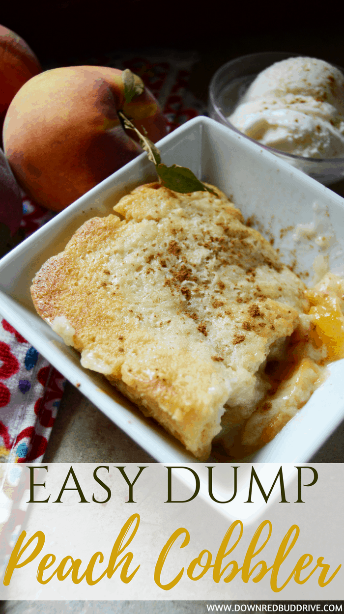 Easy Apple Cobbler Made With Cake Mix