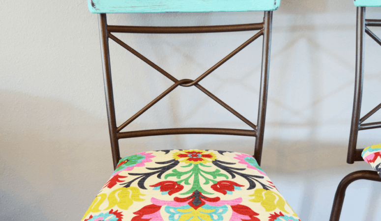 Easy Barstool Makeover