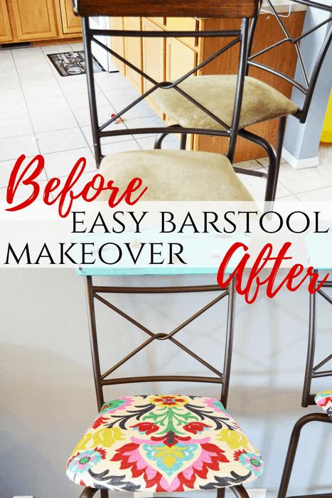 Easy Barstool Makeover