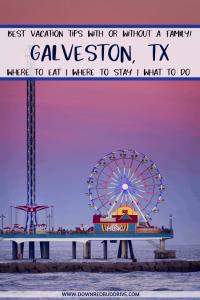 galveston vacation tips
