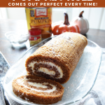 Foolproof Pumpkin Roll Recipe