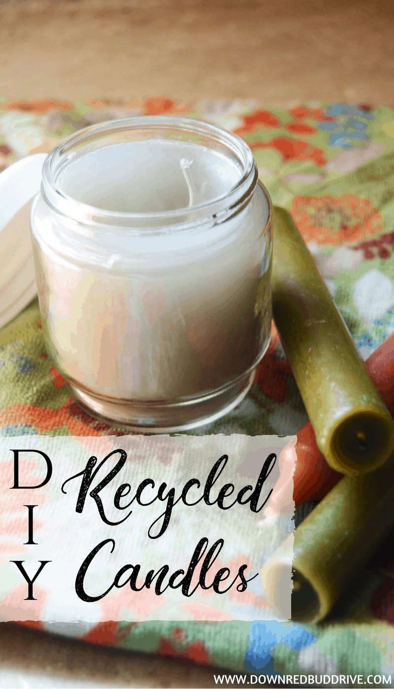 DIY Recycled Candles | Candle Tutorial | Candle DIY | Make Your Own Candles | Candle Making | Gifts in a Jar | Jar Gifts | Upcycled | DIY Candle | DIY Candles | Essential Oil Candles |