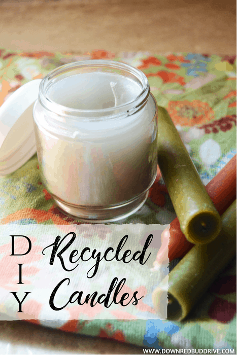 DIY Recycled Candles