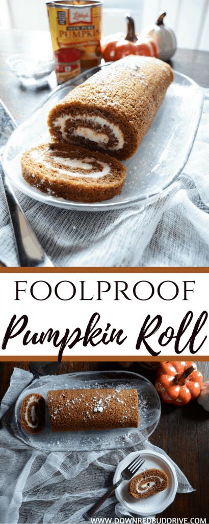Foolproof Pumpkin Roll
