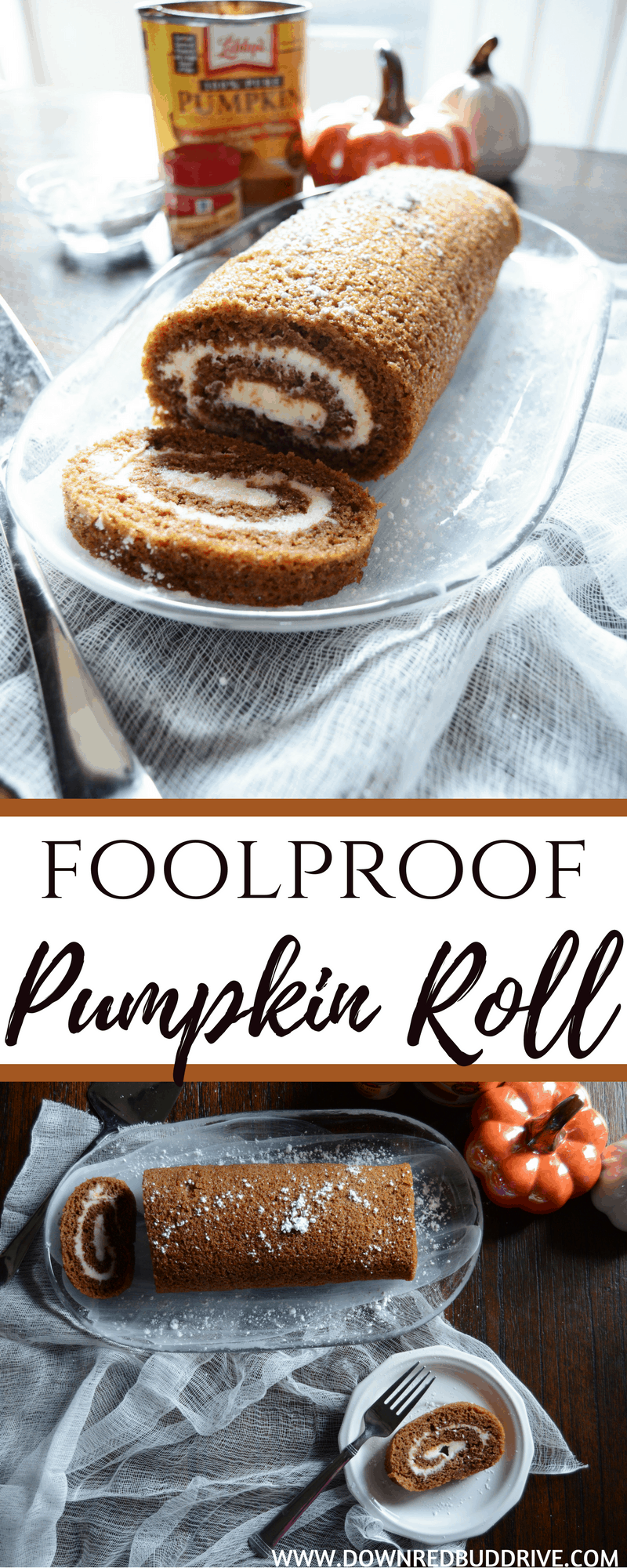 Foolproof Pumpkin Roll | Pumpkin Roll Recipe | Easy Pumpkin Roll | Best Pumpkin Roll Recipe | Pumpkin Recipe | Fall Dessert | Thanksgiving Dessert | Thanksgiving Recipe | Pumpkin Dessert |