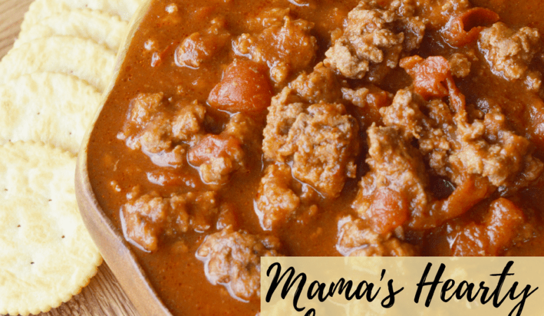 Mama's Hearty Chili