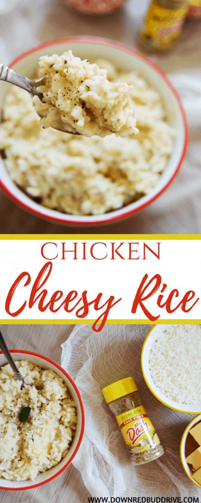 Chicken Cheesy Rice