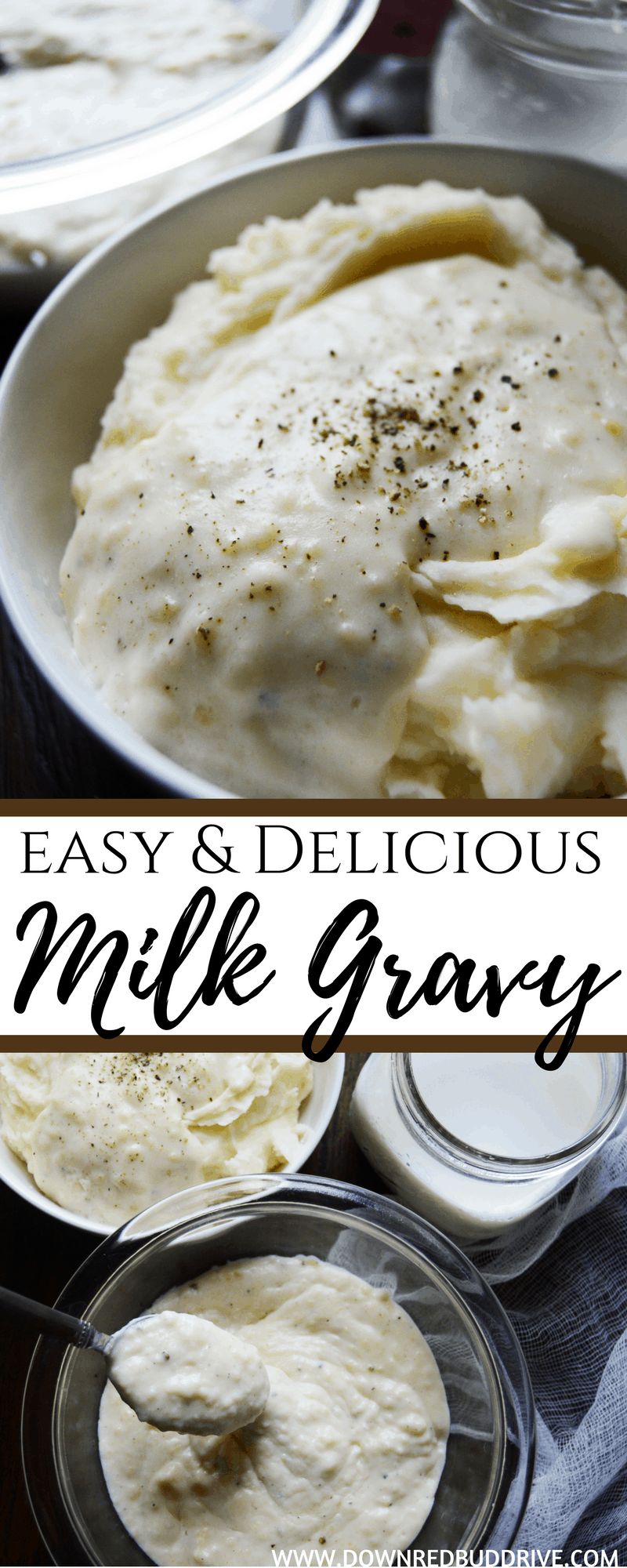 White Gravy Recipe | Easy & Delicious Milk Gravy Recipe