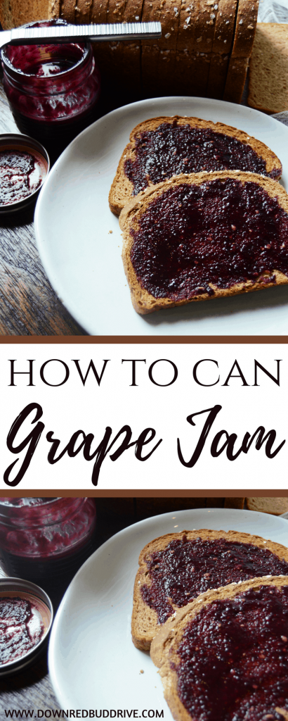 How To Can Grape Jam