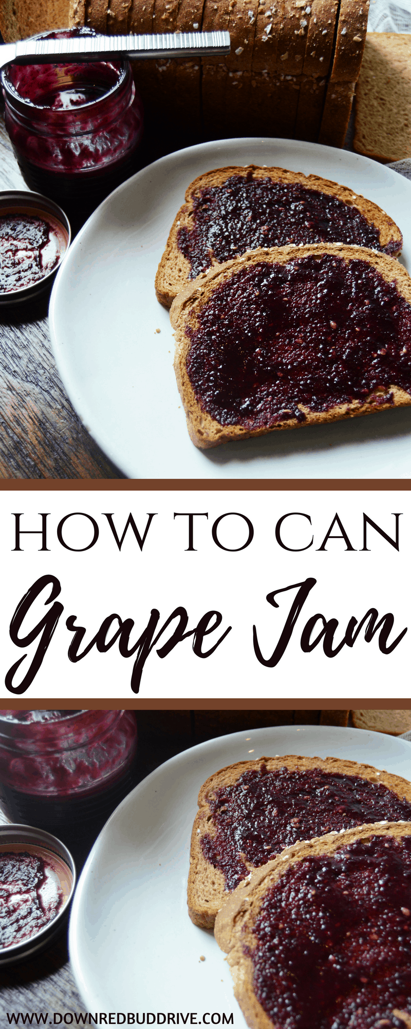 How To Can Grape Jam | How to Can | Grape Jam Recipe | Grape Jelly Recipe | Concord Grape Jam | Concord Grape Jelly | How to make Jelly | How to make Jam | Beginner Canning | Canning Tutorial | Easy Jam Recipe |
