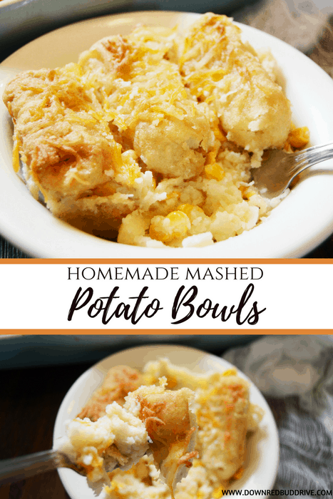 Homemade Mashed Potato Bowls