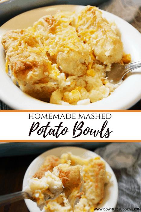 Homemade Mashed Potato Bowls