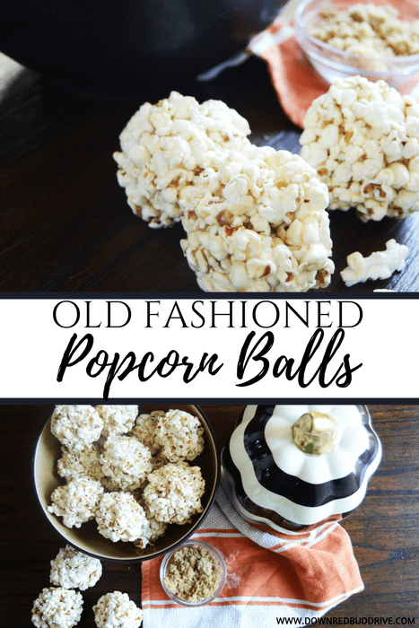 Old Fashioned Popcorn Balls