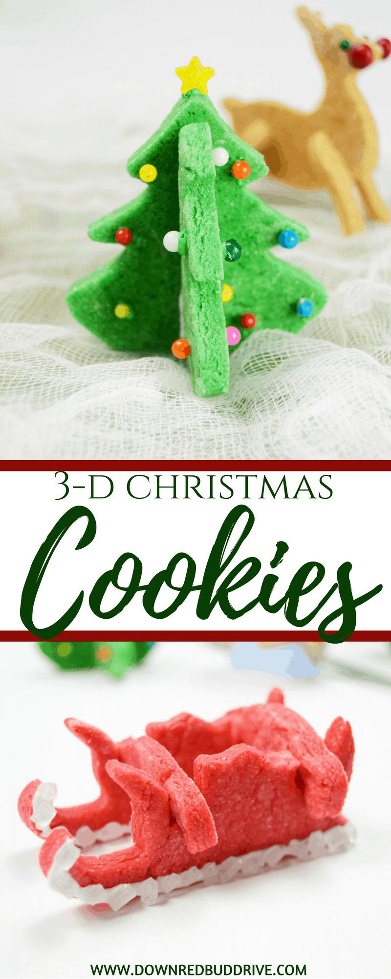3d Christmas Cookies Pinterest Down Redbud Drive