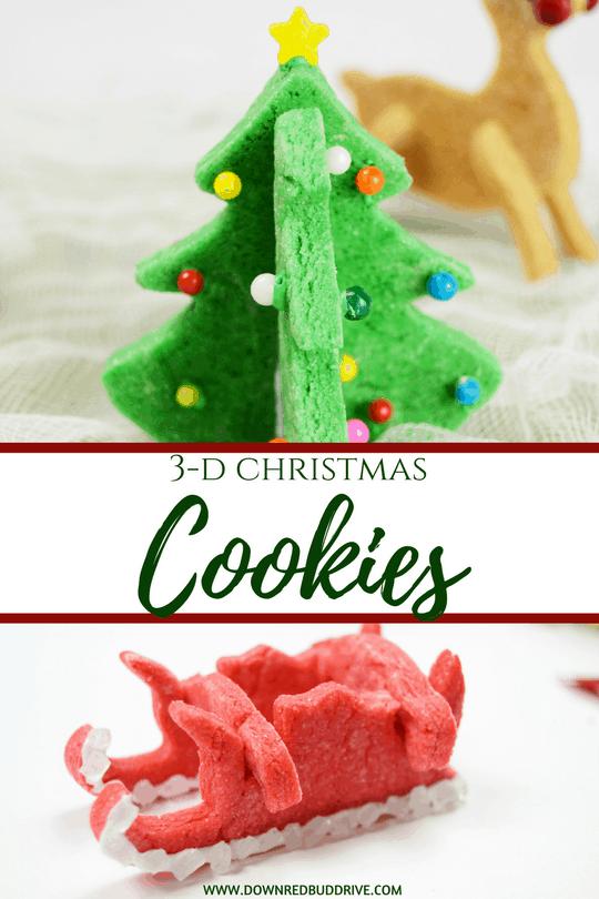 3D Christmas Cookies