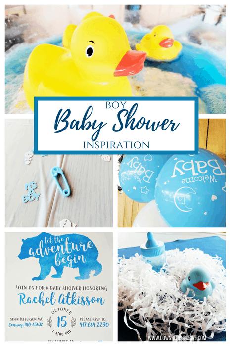 Boy Baby Shower Inspiration