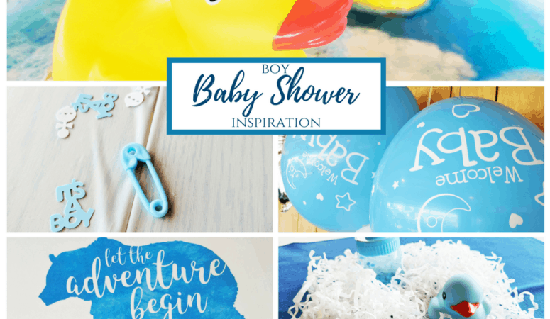 Boy Baby Shower Inspiration