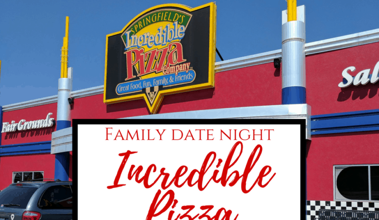 Incredible Pizza | Family Date Night Idea