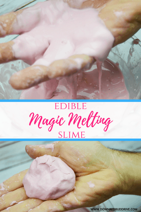 Edible Magic Melting Slime