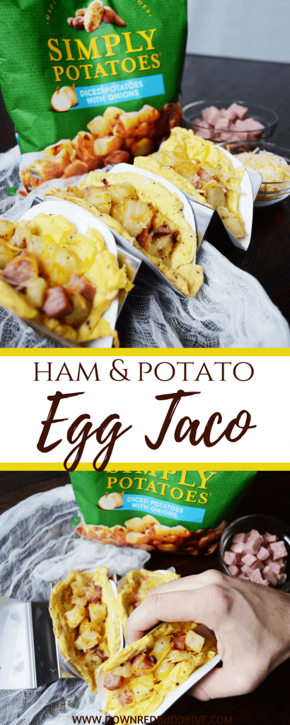 Ham and Potato Egg Taco