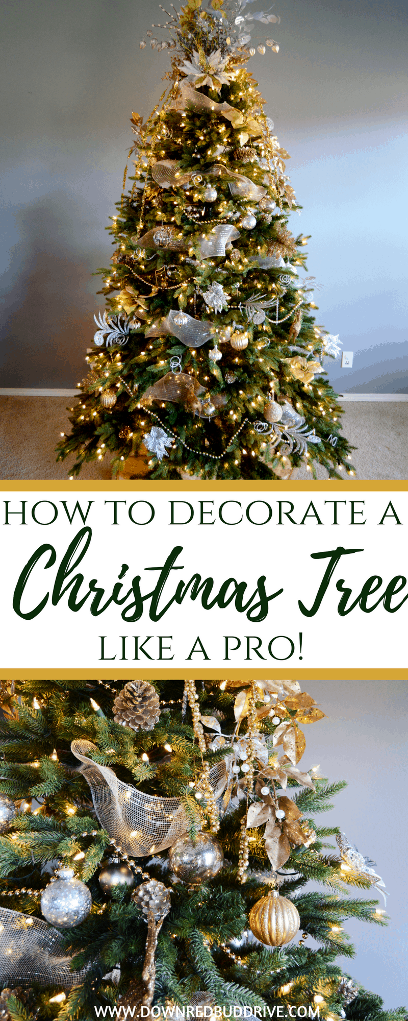 How to Decorate a Christmas Tree Like a Pro! | It's all ...