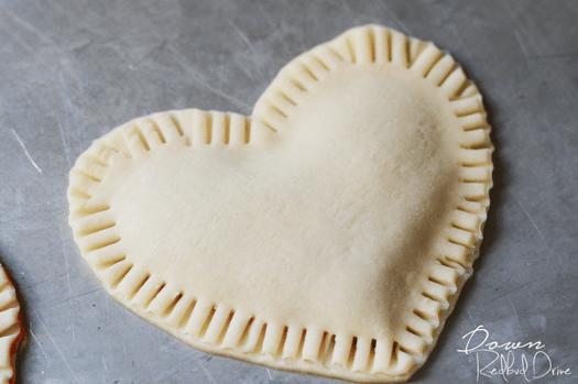 Conversation Heart Hand Pies
