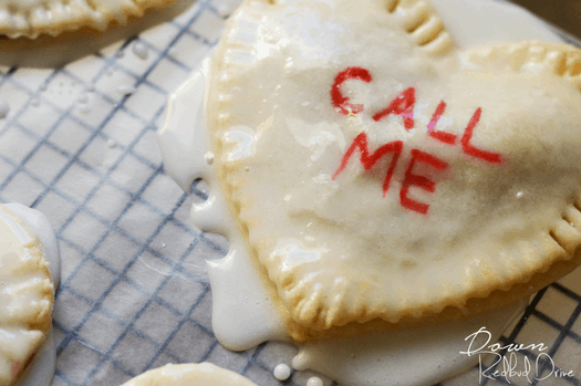 Conversation Heart Hand Pies